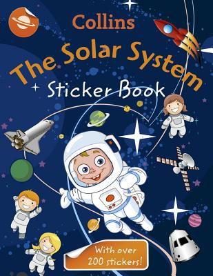 Collins the Solar System Sticker Book By Collins Uk (COR)